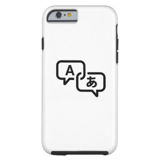 Lost in Translation Pictogram iPhone 6 Case