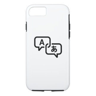 Lost in Translation Pictogram iPhone 7 Case