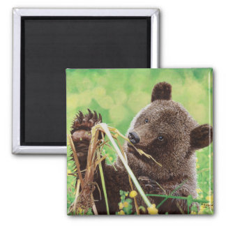 Lost in Wonder 2 Inch Square Magnet