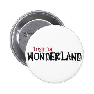 Lost in Wonderland Button