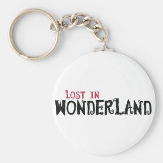 Lost in Wonderland Keychain