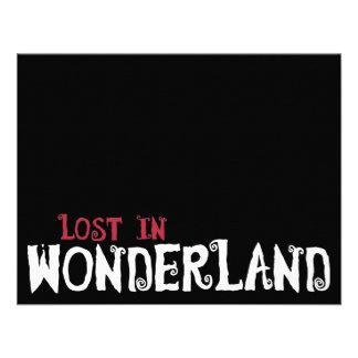 Lost in Wonderland Personalized Invites