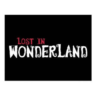 Lost in Wonderland Postcard
