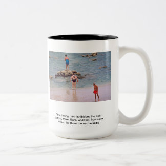 Lost Inhibitions Two-Tone Coffee Mug