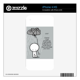 LOST iPhone 4 DECAL