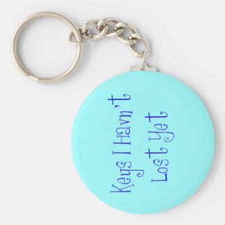 Lost Keys (Blue) Keychain