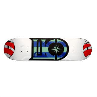 Lost Kids & Company Blue Skateboard Deck