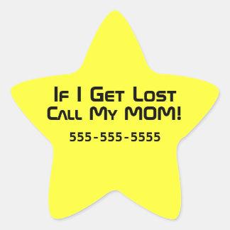 Lost Kids Star Sticker
