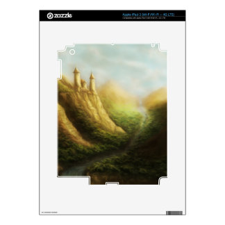lost kingdom fantasy iPad skin