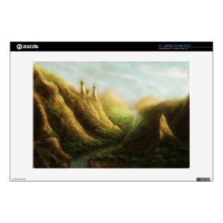 lost kingdom fantasy laptop skin