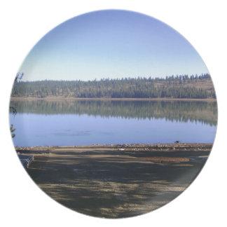 Lost Lake, Idaho Melamine Plate