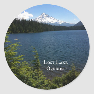 Lost Lake, Oregon Classic Round Sticker
