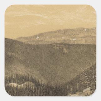 Lost Lakes, Conejos River, Colorado Square Sticker