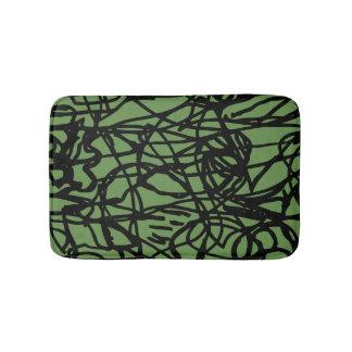 Lost lines bath mat