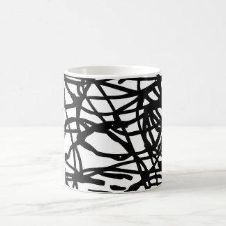 Lost lines coffee mug