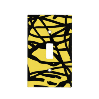 Lost lines light switch cover