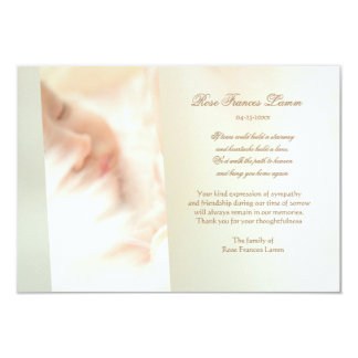 Lost Love Bereavement Thank You Card