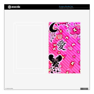 Lost Love Kindle Fire Skin
