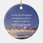 Lost Loved One Ornament