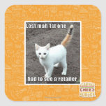 Lost Mah 1st One Square Sticker