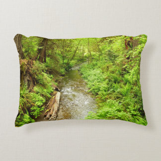 Lost Man Creek II at Redwood National Park Accent Pillow