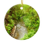 Lost Man Creek II at Redwood National Park Ceramic Ornament