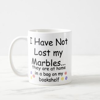 Lost Marbles mug