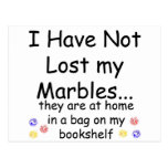 Lost Marbles Postcard