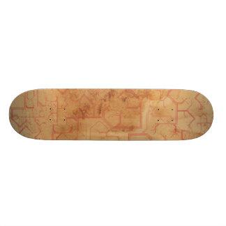 Lost Mechanics Custom Skateboard