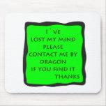 lost mind mousepad