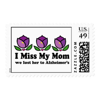Lost Mom To Alzheimer's Postage Stamps