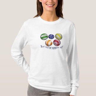 Lost my marbles female humorous shirt all-sizes