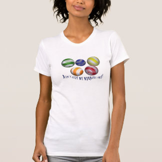 Lost my marbles female humorous T-shirt all-sizes