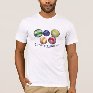 Lost my marbles male humorous T-shirt all-sizes