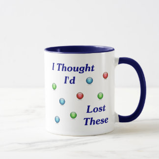 Lost My Marbles Mug
