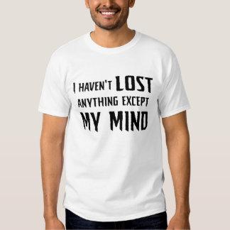 Lost My Mind... Mens Tee (light)