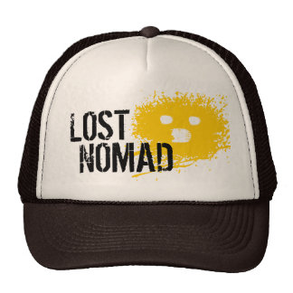 Lost Nomad Smiley Face Trucker Hat