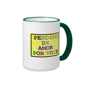 Lost of Love for you Ringer Coffee Mug