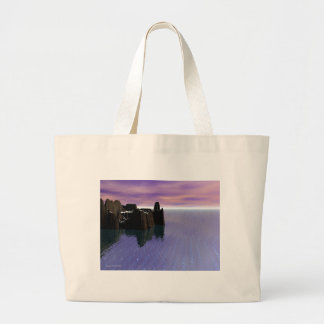 Lost Outpost Large Tote Bag
