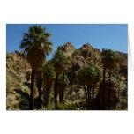 Lost Palms Oasis I at Joshua Tree National Park Card