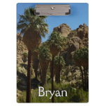 Lost Palms Oasis I at Joshua Tree National Park Clipboard