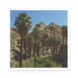 Lost Palms Oasis I at Joshua Tree National Park Paper Napkin