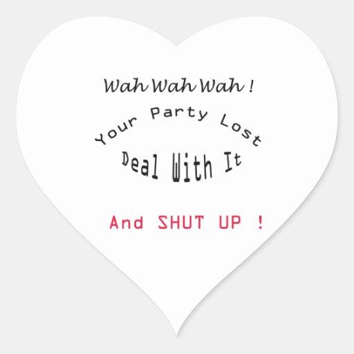 lost party heart sticker