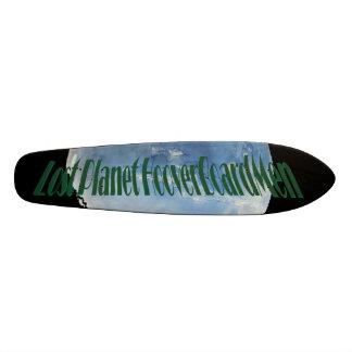 Lost Planet HooverBoardMen-BLUEgREEN II Custom Skateboard