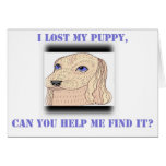 Lost Puppy Cards