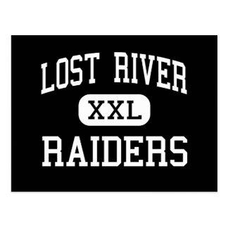 Lost River - Raiders - High - Merrill Oregon Postcard