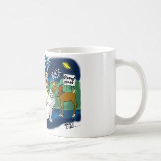Lost Santa Classic White Coffee Mug