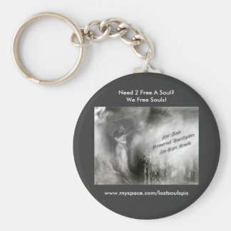 Lost Souls Keychain (Angel Logo)