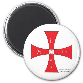 Lost Souls Magent (Red Logo) 2 Inch Round Magnet