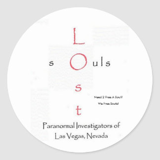 Lost Souls Stickers